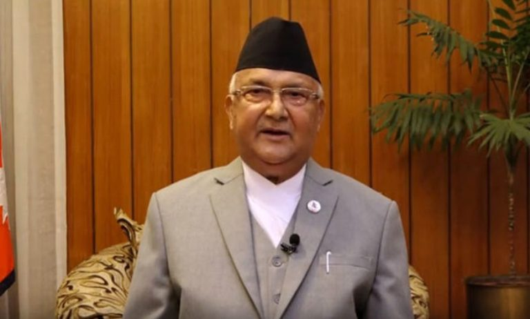 PM Oli cautions against tendency of obstructing development
