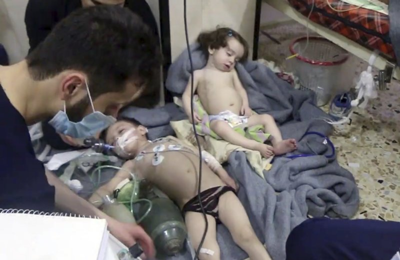 Syrian media reports missile attack after suspected chemical attack by Assad regime