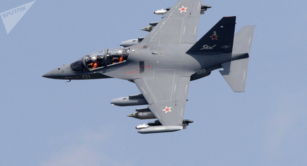 Yak-130 Plane Crashes in Southwestern Russia