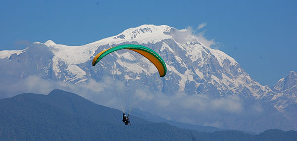 Paragliding in Nepal, Ultimate Adrenaline Rush