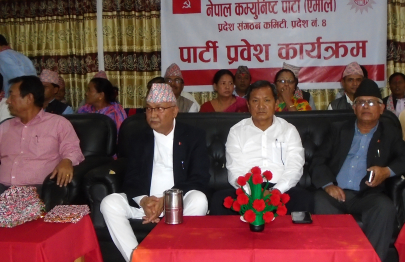 Oli hopes for UML's victory in all elections