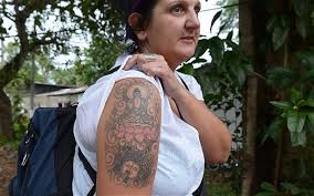Srilanka Authorities To Deport Buddha Tattoo British Woman